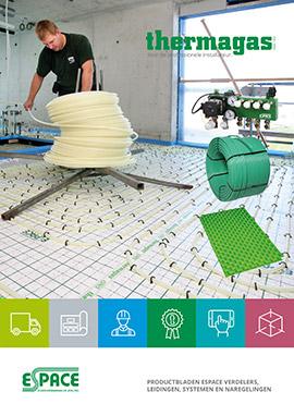 Technische specificaties Espace vloerverwarming
