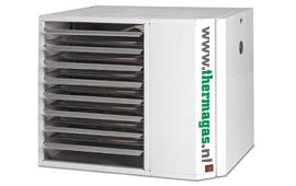 VRA-3 luchtverwarmers met verbeterd rendement