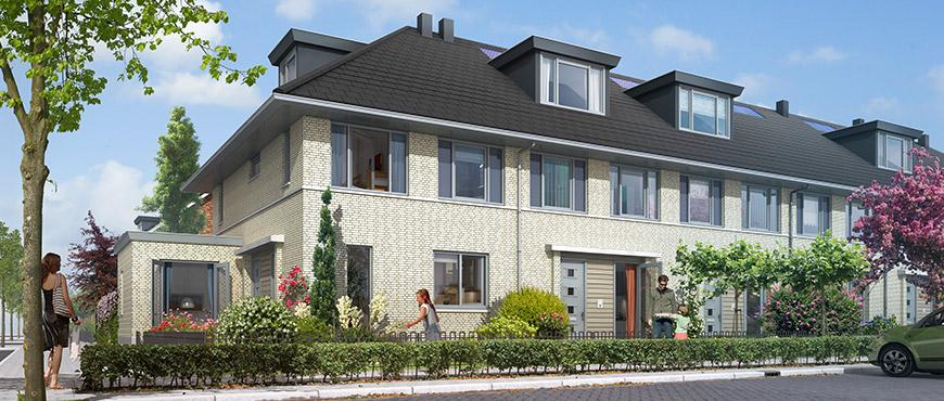 Westwijk, 455 woningen