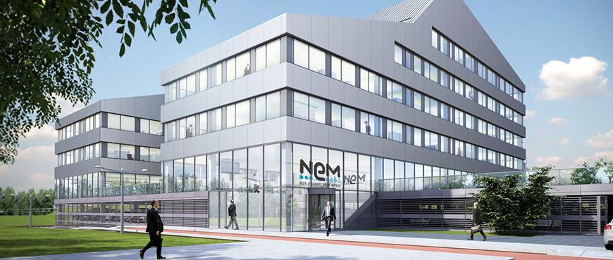 NEM Nederlandse Energie Maatschappij, kantoor
