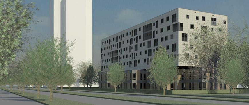 Woonzorgcomplex Laan Corpus den Hoorn, 100 appartementen
