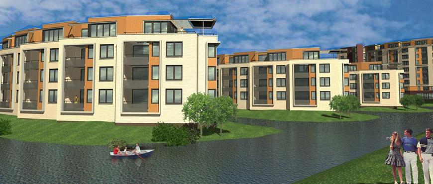 Waterland, woningen en appartementen